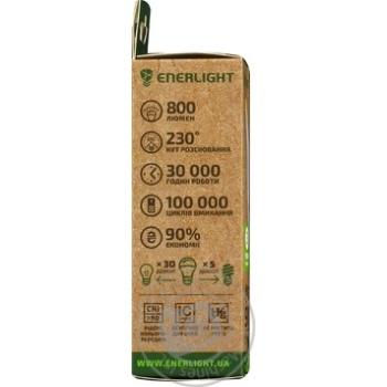 Лампа світлодіодна Enerlight C37 9Вт 4100K E14 шт - купити, ціни на Novus - фото 2
