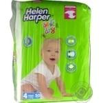 Подгузники Helen Harper Soft&dry 4 maxi 7-18кг 50шт