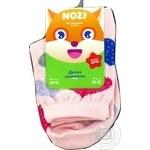 Шкарпетки дитячі рожевий Nozi N0017 20-23