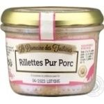 Рийет e Domaine des Tuileries со свинины 180г