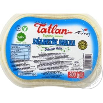 Халва Tatlan тахинная диабетическая 300г х6 - купить, цены на МегаМаркет - фото 1