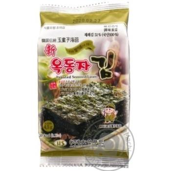 Нори снек Ock-Dong-Ja с кунжутным маслом 4,5г - купить, цены на Novus - фото 1