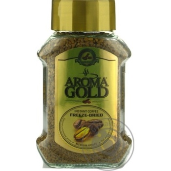 Aroma Gold Instant Sublimated Coffee 100g - buy, prices for Novus - image 1