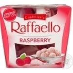 Конфеты Raffaello с малиной 150г