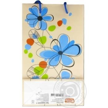Пакет подарунковий C АртПрезент - купити, ціни на Novus - фото 3