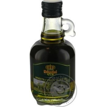 Олія оливкова нерафінована першого холодного віджиму Monterreal 250млграфін