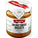 Vegetables tomato Santolino Bruschetta sun dried 212ml glass jar