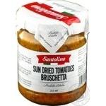 Брускета з в`ялених томатів консервована пастеризована Santolino 212мл