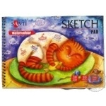 Альбом для ескізів А5 Santi Paper Watercolour Collection, 10л