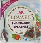 Чай смесь черного и зеленого Lovare Shampagne Splashes в пирамидках 15*2г