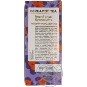 Чай Lovare байховый кенийский с бергамотом и ароматом мандарина 24*2г - купить, цены на Novus - фото 3