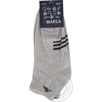 Шкарпетки Marca Premium чоловічі подвійний борт 25-27р