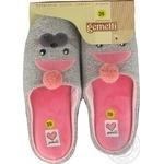 Взуття домашнє жіноче Gemelli Тюлень р.36-40