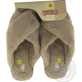 Взуття домашнє жіноче Gemelli Ландора р.36-40 - купить, цены на Novus - фото 2