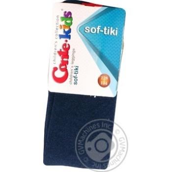 Легинсы дитячі Conte Kids Sof-Tiki 13С-82СП розмір 128-134,000 темно-синій