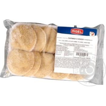 Пиріжки з хеком, напівфабрикат, NIGEL, пакет 400 г - купить, цены на Novus - фото 1