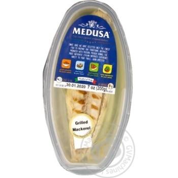 Смажене філе скумбрії Medusa 200 гр