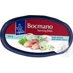 Zigmas Bocmano With Onions And White Sauce Herring Fillet 300g