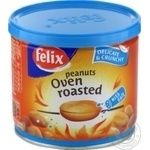 Felix roasted in oven salt peanuts 120g