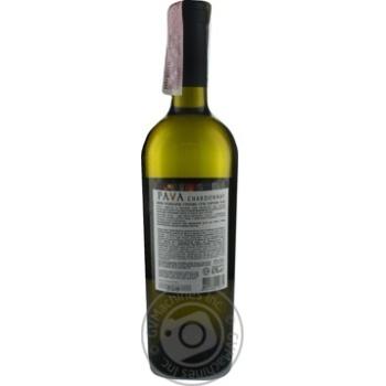 Вино Pava Шардоне ординарное белое сухое 9,5-14% 0,75л - купить, цены на МегаМаркет - фото 7