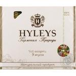 Чай Hyleys Гармонія Природи Асорті 9 смаків в пакетиках та конвертиках із фольги 100*1,5г