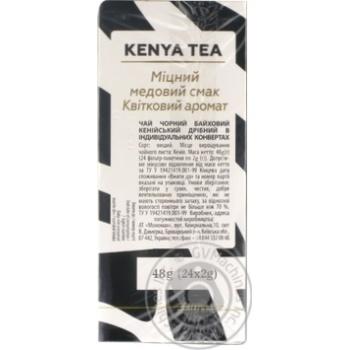 Чай чорний Lovare кенійський байховий 24*2г - купити, ціни на Novus - фото 2