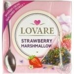 Tea Lovare strawberries with cream green packed 15pcs 30g
