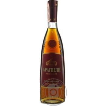 Cognac Gocha Aragveli 40% 3yrs 500ml glass bottle Georgia