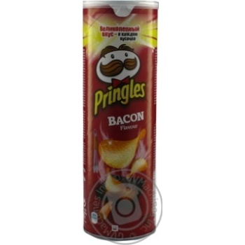 Pringles Bacon Potato Chips