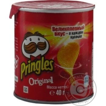 Чіпси Pringles Original 40г