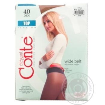 Колготы Conte Top 40 Den р.4 natural шт - купить, цены на Novus - фото 2