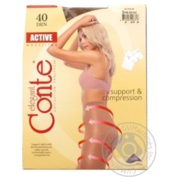 Колготы женские Conte Active Bronz 40ден р.3 Bronz - купить, цены на СитиМаркет - фото 2