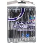 Ручки шариковые Aro черные 10шт