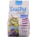 Наполнитель Природа Sani Pet для кошачьих туалетов лаванда 2,5кг