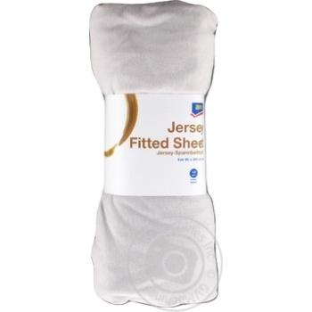 Aro sheets on elastic grey 90х200см