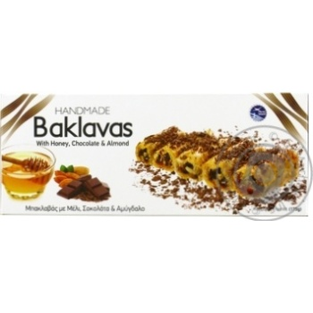 Baklava with chocolate 175g - buy, prices for Novus - image 1