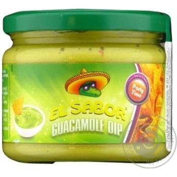 Соус гуакамоле EL Sabor 300г с/б