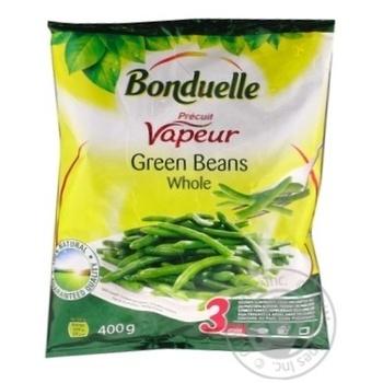 Фасоль Bonduelle зеленая стручковая целая на пару замороженная 400г - купить, цены на Метро - фото 3