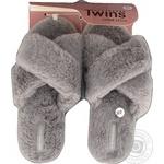 Домашнє взуття Twins жіноче штучне хутро