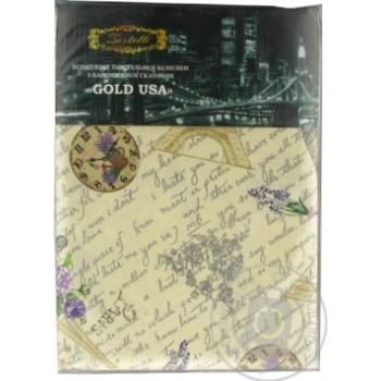 Комплект Gold USA постельного белья хлопковый 145х210см - купить, цены на МегаМаркет - фото 1
