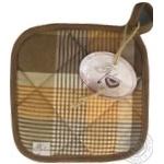 Прихватка Прованс Toffee коричнева клітинка