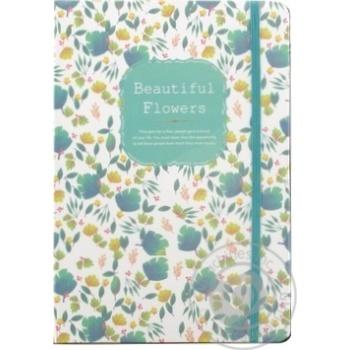 Блокнот Малеваро Красивые цветы 21x14.5см 80 листов