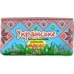 Масло сладкосливочное Украинское Крестьянское 73% 400г