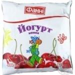 Йогурт Фанні Вишня питний 1% 400г