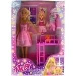 Набір з лялькою Ася На добраніч маля, блондинка, 28см