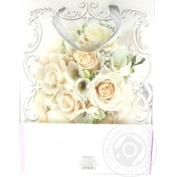 Пакет паперовий для подарунку Хеппіком GBXLE12/1 45*33см - купити, ціни на Novus - фото 2