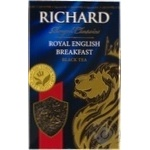 Richard English Breakfast black tea 90g