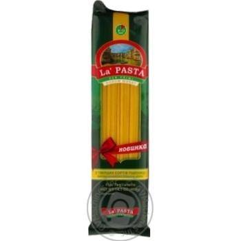 Макаронные изделия La Pasta лапша длинная 400г