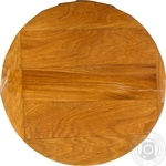 Дошка Забава кухонна дерев'яна кругла 30см