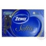 Хустинки носові 4 шари Softis HA Zewa 24шт